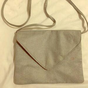 H&M Crossbody bag. Gray.